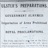 Importation of Arms is Prohibited